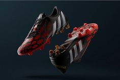 worn by zinedine zidane during the 1998 FIFA world cup final in france, the predator instinct accelerator marks its return as the latest incarnation of the adidas 'revenge' pack. Predator Football Boots, Soccer Boots, Soccer Cleats, Zinedine Zidane, Predator Adidas, Soccer Gifs, Soccer Videos, World Soccer Shop, Soccer