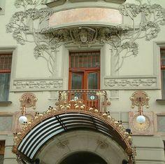 Art Noveau architecture in Prague, Czechia