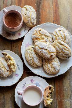 Best Italian Recipes, Italian Desserts, Mini Desserts, My Recipes, Dessert Cake Recipes, Cookie Recipes, Burritos, Cream Cheese Flan, Almond Biscotti Recipe