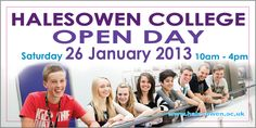 West Midlands based Halesowen College are running an outdoor advertising campaign with Out Of Home International, implementing 48 sheet and 6 sheet billboards to raise awareness of their January open day. Out Of Home Advertising, Advertising Campaign, New Press, West Midlands, Opening Day, Billboard, Tube, College, London