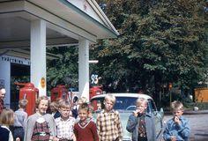 "Vintage Red Border Kodachrome Slide ""Swedish Schoolchildren"" 1950's..Vintage Red Border Kodachrome Slide.. by iloveyoumorephotos on Etsy"