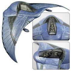 STARGATE SG-1 - Réplique Goa'uld Death Glider 20 cm