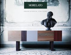 Italian cabinet making Morelato: 2016 novelties