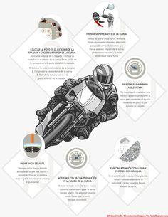 ¿Qué haces en las curvas con tu moto?