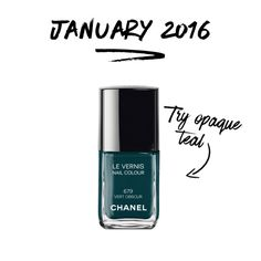 January Color of the Month: Opaque Teal