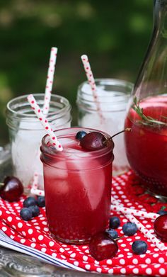 Sangria for the Fourth of July with A Farm Girls Dabbles.