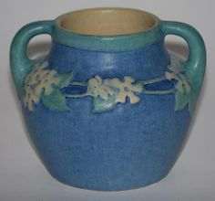 Newcomb Pottery | Newcomb College Pottery 1923 Handled Vase (Simpson) - Listing # 500
