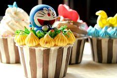 Il #Cupcake di #Doraemon è veramente troppo #kawaii !!!