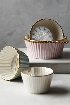 Anthropologie Raised Bloom Measuring Cups: http://www.stylemepretty.com/living/2015/11/17/best-cookware-and-bakeware-for-your-kitchen/