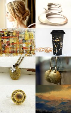 Her Golden Hour by Yar on Etsy--Pinned with TreasuryPin.com