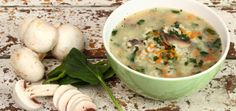 You'll Fall In Love With This Wild Rice & Spinach Soup