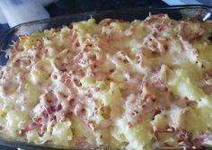 Gyors párizsis rakott tészta recept foto Pasta Recipes, Cooking Recipes, Hawaiian Pizza, Potato Salad, Macaroni And Cheese, Recipies, Food And Drink, Health, Ethnic Recipes