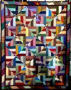 26 **FREE** Scrappy Quilt patterns.