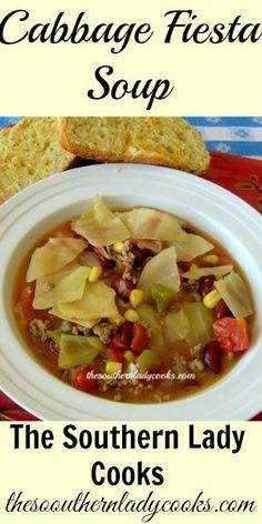 Cabbage Fiesta Soup