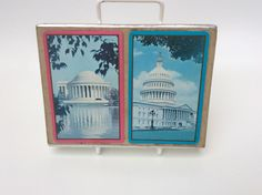 A personal favorite from my Etsy shop https://www.etsy.com/uk/listing/264137513/vintage-playing-cards-congress-two-decks