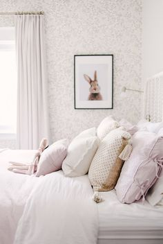 Project Reveal: The sweetest little girls room for the sweetest little girl Michelle Binette Little Girl Rooms, Little Girls, Living Room Inspiration, My New Room, Bedroom Decor, Bedroom Ideas, Bedroom Lighting, Bedroom Designs, Bedroom Furniture