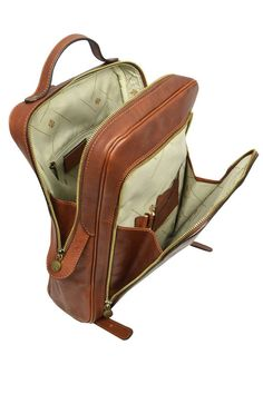 Leather Backpack for Men, Personalized Gift, Brown Laptop Backpack, Leather Rucksack, Gift for Him - The Sun Also Rises Leather Backpack For Men, Leather Men, The Sun Also Rises, Brown Backpacks, Personalised Gifts For Him, Laptop Backpack, Dust Bag, Notebook, Look