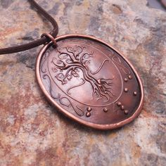 Tree of Life Braille Pendant..in copper..Jewelry in Braille by KFEHRdesigns on Etsy https://www.etsy.com/listing/69605401/tree-of-life-braille-pendantin