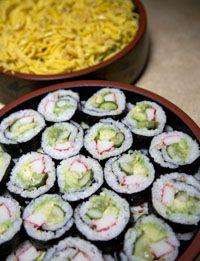 Sushi Recipes, Nigiri sushi, Maki sushi, Chirashi sushi, Making perfect sushi rice