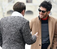 Tommy Ton's Street Style: Paris Fall 2013   Source: GQ
