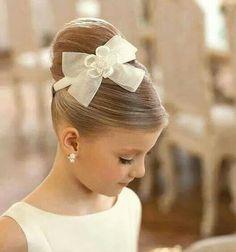 Peinado de niña, para ceremonia