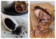 Goûte, j'ai testé un truc !: Tortillas de porc effiloché fumé au thé {Pulled pork au four}