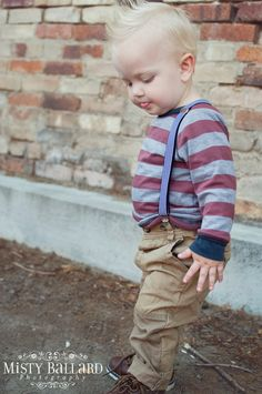 boy suspenders, black white stripe suspenders, baby boy suspenders, toddler suspenders, boy accessories, photographer props. $19.00, via Etsy.