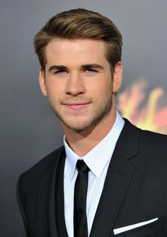 You can run your fingers through his shiny golden hair.   Gentlepeople Of The World, Liam Hemsworth Is Single And Ready To Mingle