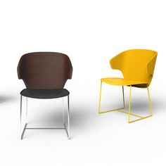 Claesson Koivisto Rune for Offecct Lab: The Modena Chair: The internationally acclaimed designer creates a progressive office chair for the modern workplace