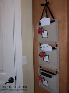 Delightful Order: Boxes, Bins, Baskets and More Storage great site she describes where she gets all her stuff!