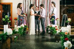 The newest trend sweeping the wedding world is boho chic affairs… and they couldn't be more fabulous! With it's rustic undertones, modern palettes, and hints of retro nostalgia, these events are the ideal combination of casual and festive. Striking this gorgeous balance flawlessly, a group of vendors in Nashville executed this stunning trend to perfection. …