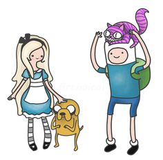 Adventure Time / Wonderland Mashup OMG MY JAW DROPPED AND MY MIND IS BLOWN AND IM FRESHLY OBSESSED
