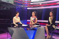 Katherine Espin talks about Miss Earth at Mornings @ANC