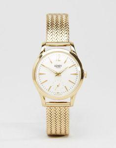 Henry London | Henry London Gold Westmister Watch HL30-UM-0004 at ASOS