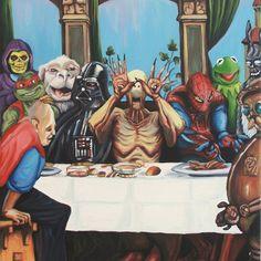 The Best Supper Art Print