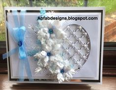 AbFab Designs: White Poinsettia