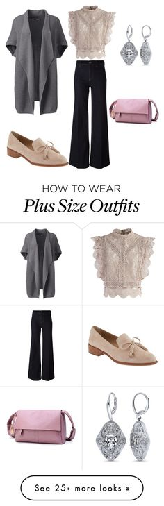 """Jeans 2"" by dina-001 on Polyvore featuring Chicwish, PS Paul Smith, Lands' End, Banana Republic, BERRICLE and plus size clothing"