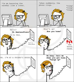 A rage comic I made!<<< I didn't make this sorry for any confusion