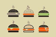 Hamburger by Vector on @creativemarket