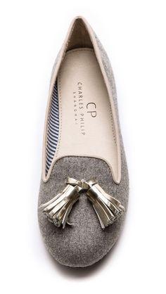 lana tassel loafers / charles philip
