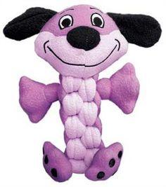 KONG Pudge Braidz Dog Toy, Medium/Large KONG http://www.amazon.com/dp/B0090Z9AV6/ref=cm_sw_r_pi_dp_yzxUwb09RJ3WW
