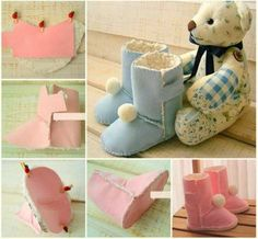 Baby Ugg Boots An Easy Pattern You'll Love