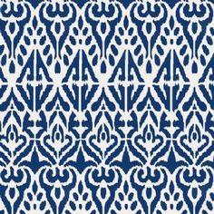 Sumatra Ikat pattern stencil - Ideal Stencils