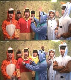 INFINITE + animal onesies = cuteness overload #infinite