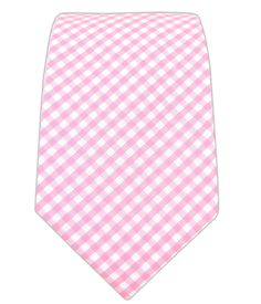 Petite Gingham - Pink (Cotton) | Ties, Bow Ties, and Pocket Squares | The Tie Bar