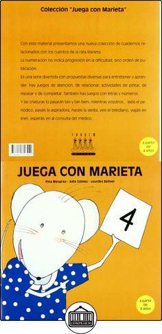 Juega con Marieta 4 Fina Masgrau Plana ✿ Libros infantiles y juveniles - (De 3 a 6 años) ✿
