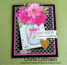 Christine's Creative Capers: Stamp of the Month - Candlelight Garden