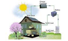 Sơ đồ hệ thống điện năng lượng mặt trời