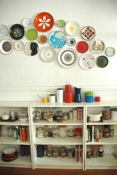 Decorar paredes con platos en seis ideas geniales