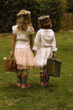 "via kleine freude   Sisters~ ""I will go with you!"" <3"